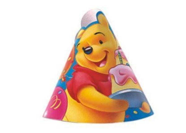 Partyhüte-Winnie-Pooh