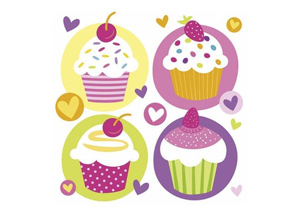 Servietten Cupcake