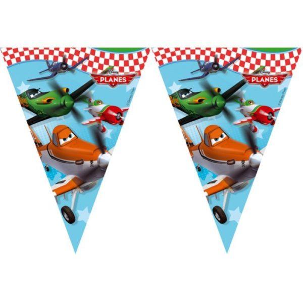 Planes Girlande kleine Flaggen