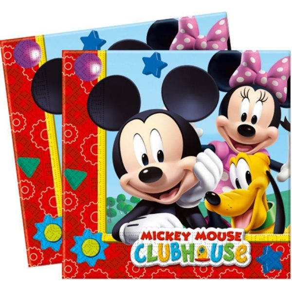 Disney Mickey Clubhouse Servietten