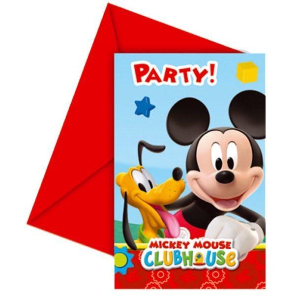 Mickey Mouse Einladungen