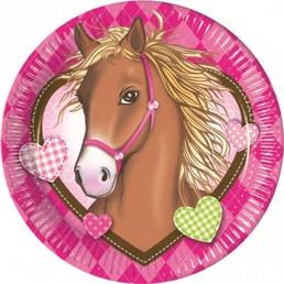 Teller Pferde love